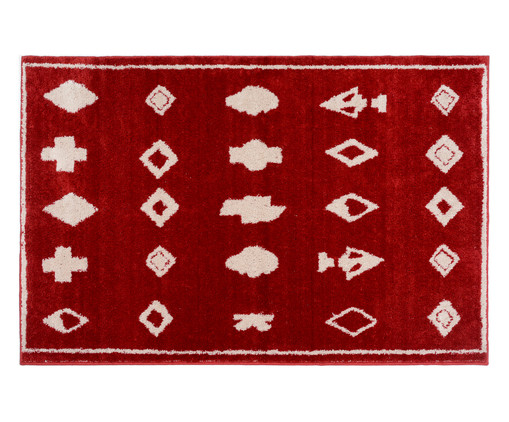 Tapete Art Teneh - Rubi, Vermelho | WestwingNow