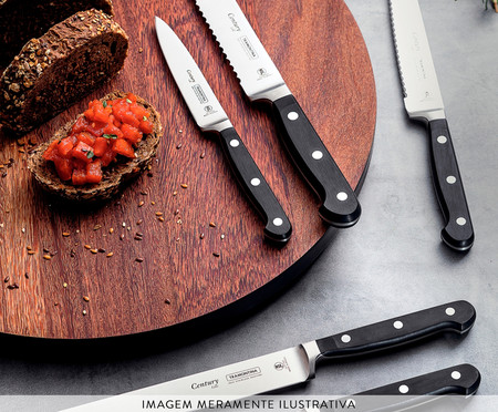 Faca de Cozinha em Inox Agile 8
