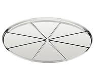 Forma para Pizza em Inox com Vincos Sili - Prata | WestwingNow
