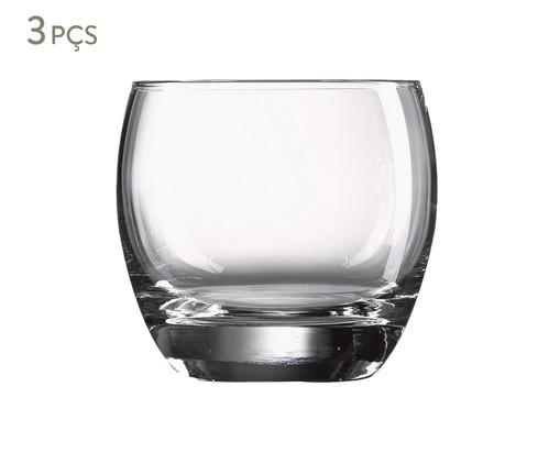 Jogo de Copos Horn - Transparente, Transparente | WestwingNow