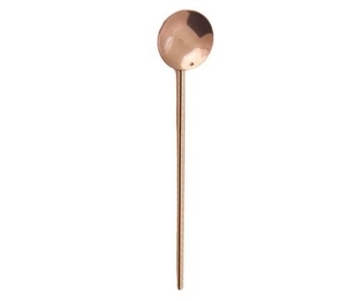 Colher para Drink em Inox Mona - Bronze, Bronze   WestwingNow