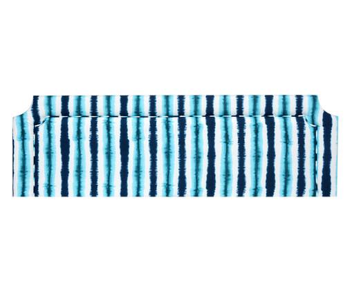 Cabeceira em Linho com Vivo Katie - Azul, Azul | WestwingNow