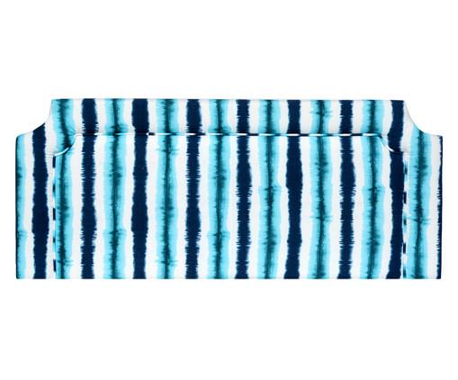 Cabeceira Painel em Linho com Vivo Katie - Azul, Azul | WestwingNow
