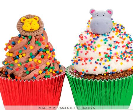 Jogo de Formas para Cupcake Lola - Cinza | WestwingNow