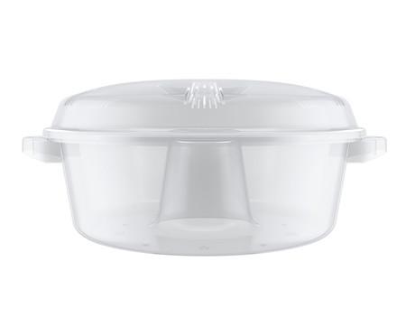 Forma de Bolo para Microondas Picadilly - Transparente | WestwingNow