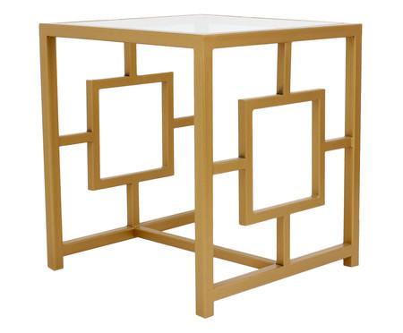 Mesa de Cabeceira Square - Dourado | WestwingNow
