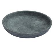 Prato para Sobremesa em Pedra Sabão Martina - Cinza   WestwingNow