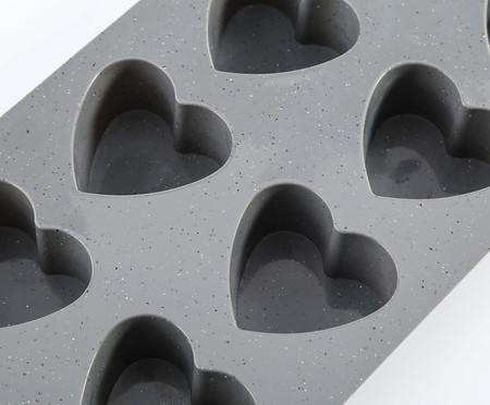 Forma de Muffin Heart - Cinza | WestwingNow