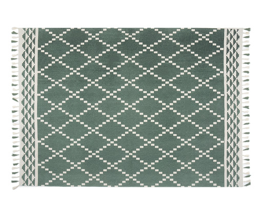 Tapete Marrocan Ash, Verde e Cru | WestwingNow
