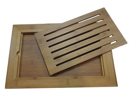 Tábua para Pão em Bambu Wood Martha - Natural | WestwingNow