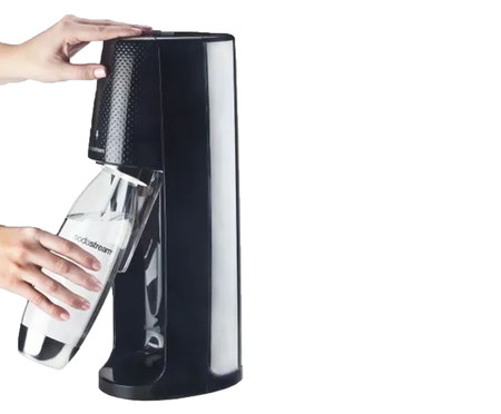 Máquina para Gaseificar Água Fizzi - Preta   WestwingNow