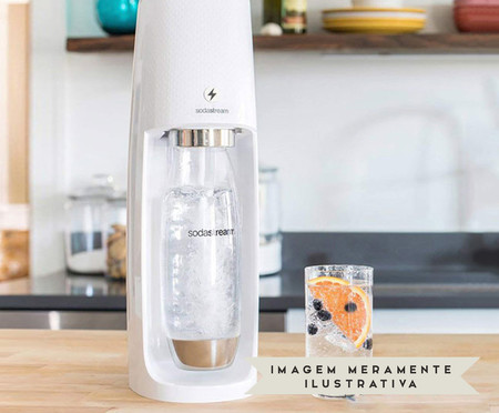 Máquina para Gaseificar Água Fizzi - Branca | WestwingNow