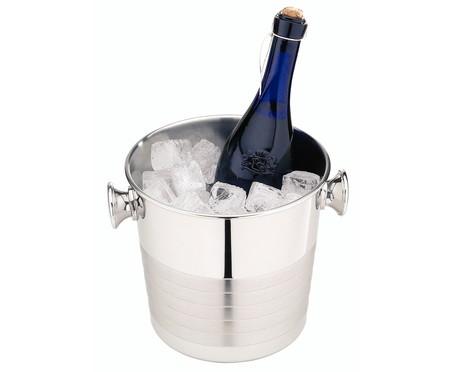Champanheira em Inox Betsey Prata - 5,2 L   WestwingNow