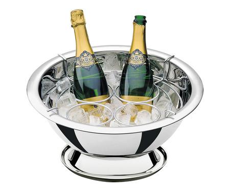 Champanheira em Inox Hattie Prata - 11,9 L   WestwingNow