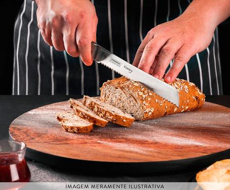 Faca para Pão em Inox Agile 8