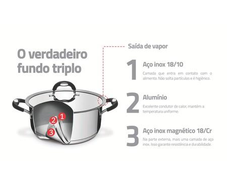 Jogo de Cozi-Pasta em Inox Dioli Prata - 02 Peças | WestwingNow