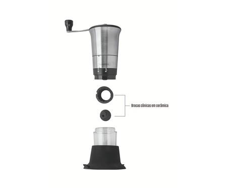 Moedor para Café em Inox Vinci - Prata | WestwingNow