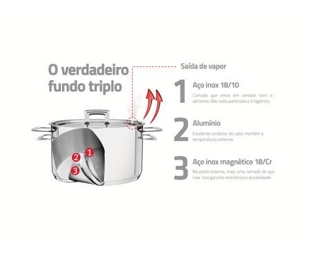 Jogo de Cozi-Pasta em Inox Montez Prata - 02 Peças | WestwingNow