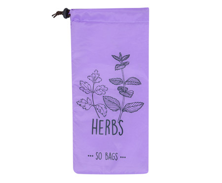 Saco para Armazenar Alimentos Herbs - Lilás | WestwingNow