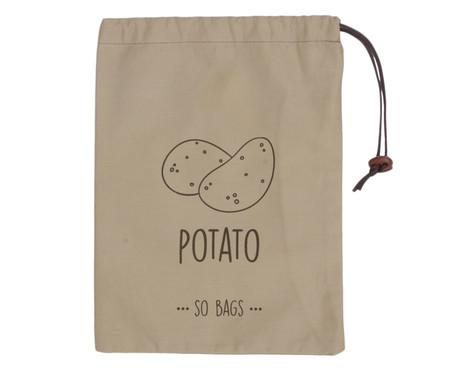 Saco para Armazenar Batatas - Marrom   WestwingNow