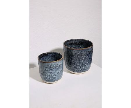 Cachepot Ardengo ll - Azul Escuro | WestwingNow