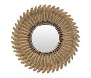 Espelho Feathers - Dourado Envelhecido | WestwingNow