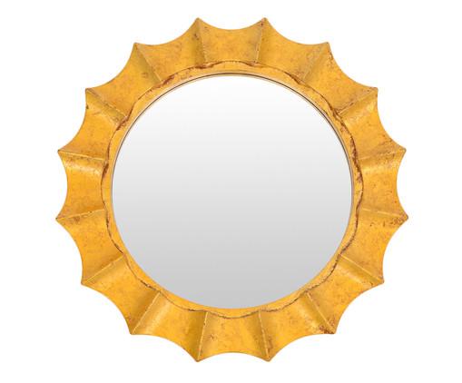 Espelho Waves - Dourado, Dourado | WestwingNow