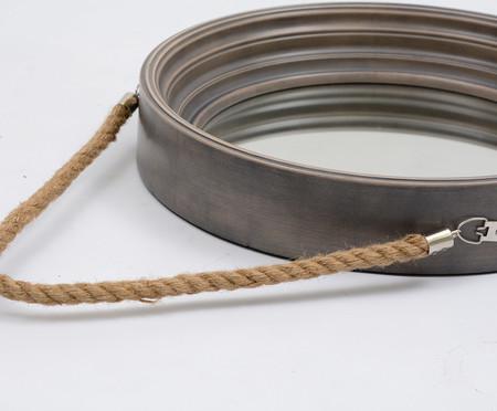 Espelho Adnet Cool Grey - 41cm | WestwingNow