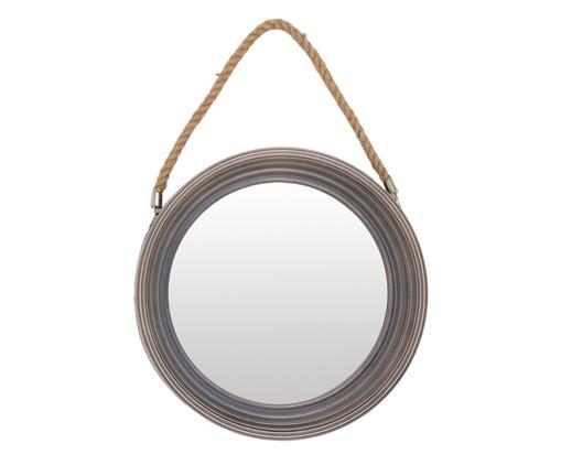 Espelho Adnet Cool Grey - 41cm, Cinza | WestwingNow