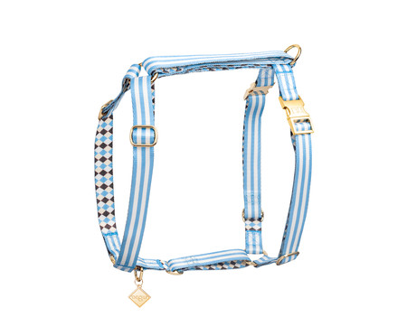 Peitoral Educativo H Slim para Cachorros Samba - Azul | WestwingNow