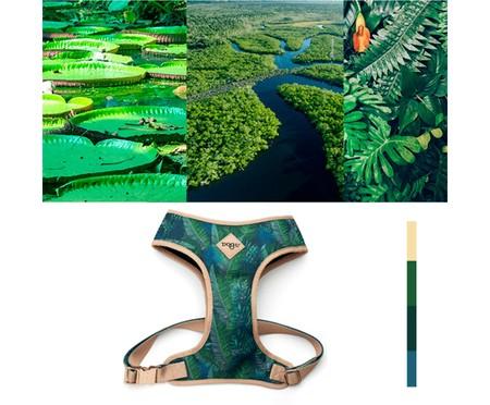 Peitoral Bold para Cachorros Amazônia - Azul | WestwingNow