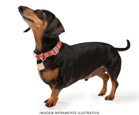 Coleira para Cachorros Dubai - Vermelha | WestwingNow