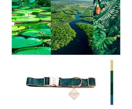 Coleira para Cachorros Amazônia - Azul | WestwingNow