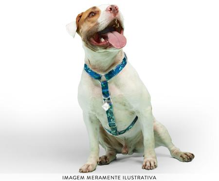 Peitoral Educativo H Slim para Cachorros Hawaii - Azul | WestwingNow