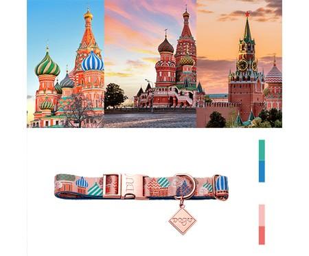 Coleira para Cachorros Moscow - Rosê | WestwingNow