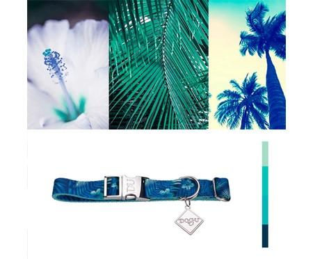 Coleira para Cachorros Hawaii - Azul | WestwingNow