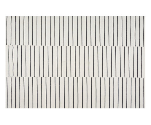 Tapete Striped, Cru e Preto   WestwingNow