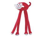 Pelúcia para Cachorros Leg Friends Gato - Vermelho | WestwingNow