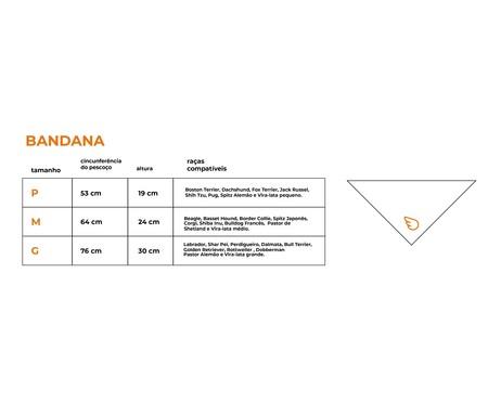 Bandana Zig - Preto   WestwingNow