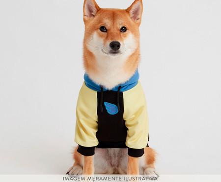Moletom para Cachorro Lime - Preto e Azul | WestwingNow