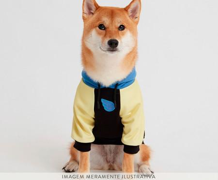Moletom para Cachorro Lime - Preto e Azul   WestwingNow