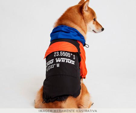 Jaqueta Corta Vento para Cachorro Midnight - Preto   WestwingNow