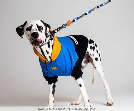 Moletom para Cachorro Blueberry - Preto e Azul | WestwingNow