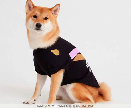 Camiseta para Cachorro Streak - Preto   WestwingNow