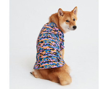 Camiseta para Cachorro Color Cheetah - Colorida   WestwingNow