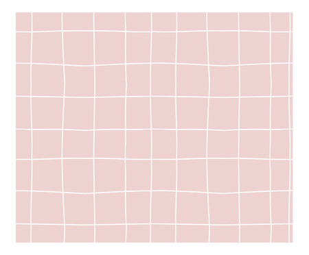 Tapete Candy Grid - Rosa | WestwingNow
