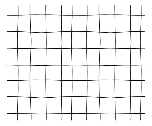 Tapete Candy Grid - Preto e Branco, Branco | WestwingNow
