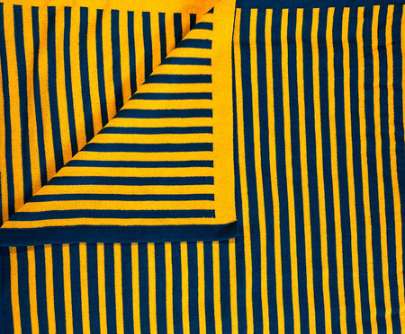 Manta em Tricô Listrada - Azul | WestwingNow