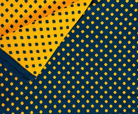 Manta em Tricô Mini Poá - Azul | WestwingNow