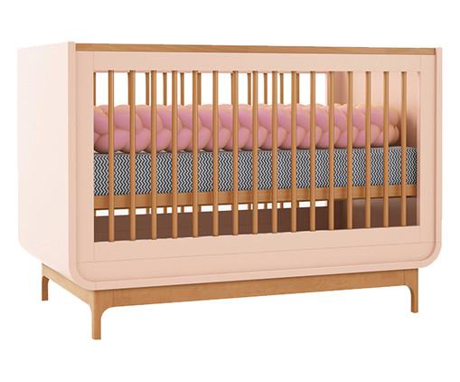 Berço Aurora - Rosê e Wood, Rose   WestwingNow